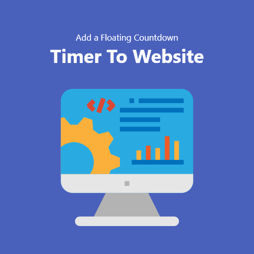 Add a Floating Countdown Timer To Website