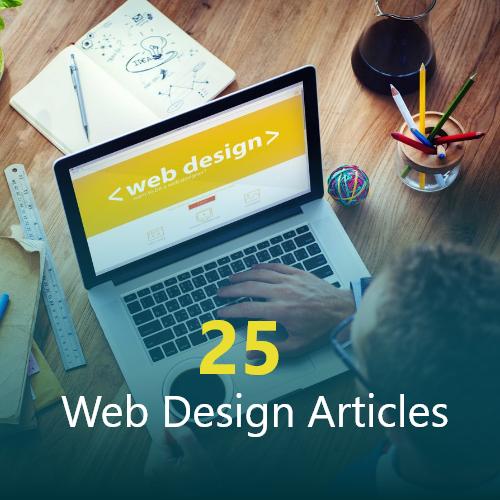 25 Web Design Articles